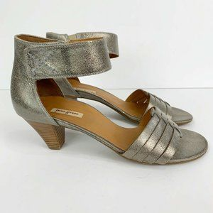 Paul Green Coco Metallic Ankle Strap Sandals